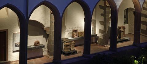 Kreuzgang Lapidarium © Archäologisches Museum Frankfurt