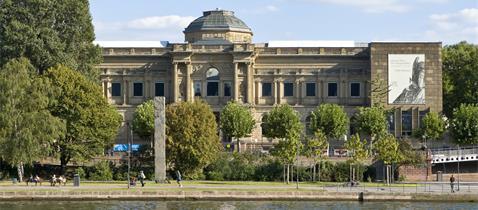 Städel Museum Fassade, Foto: Norbert Miguletz