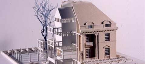 Deutsches Architekturmuseum - Modell