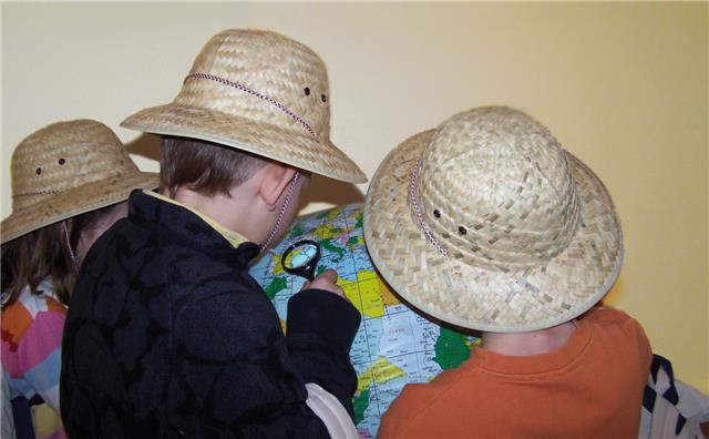Familienprogramm im Museum der Weltkulturen (Katharina Märcz)