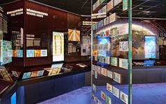 Blick in die Ausstellung © Geldmuseum der Deutschen Bundesbank