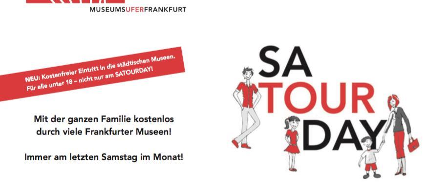 Satourday-Flyer Kulturamt Frankfurt am Main
