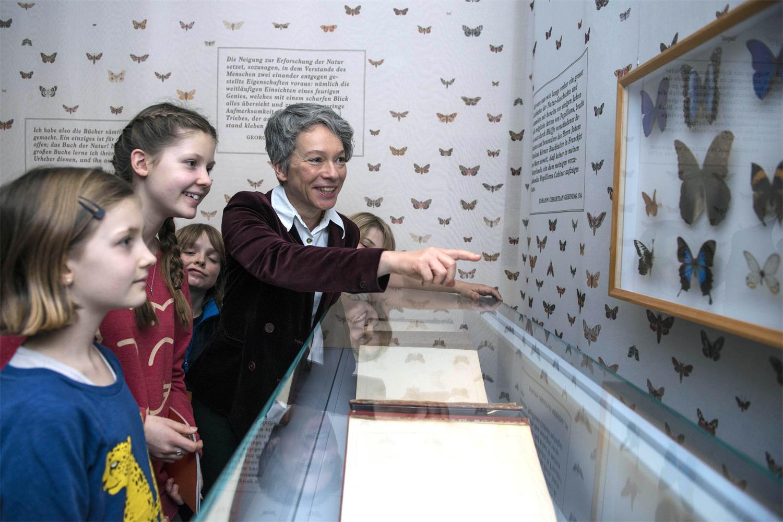 Kinderspur im Historischen Museum Frankfurt mit Dr. Ina Hartwig © Heike Lyding