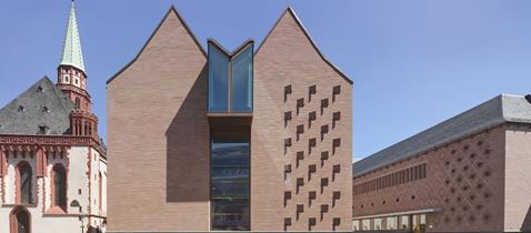 Ausstellungshaus Historisches Museum Frankfurt © Stadt Frankfurt am Main, Foto: Robert Halbe