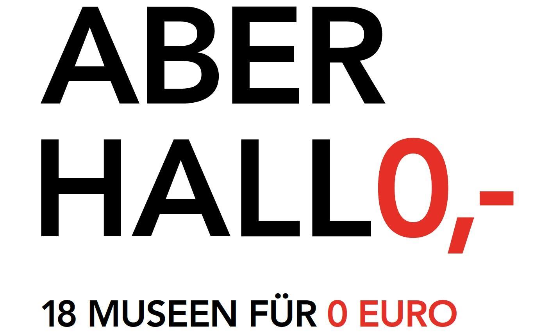 "Flyer ""Aber Holl0,-"" Kulturdezernat Stadt Frankfurt am Main"