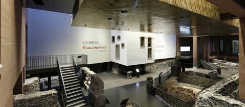KAISERPFALZ franconofurd © Archäologisches Museum Frankfurt, Fotograf: Uwe Dettmar