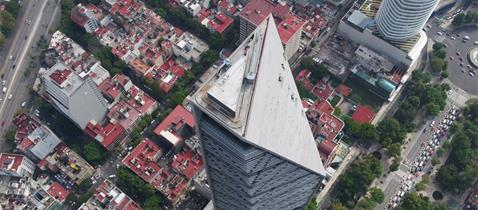 L. Benjamín Romano: Torre Reforma, Mexico City, Mexico, Photo: Moritz Bernoully