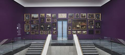 Ausstellungsansicht Städel Museum, Foto: Norbert Miguletz