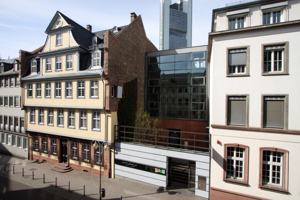 Außenansicht gesamt, Freies Deutsches Hochstift – Frankfurter Goethe-Museum © David Hall