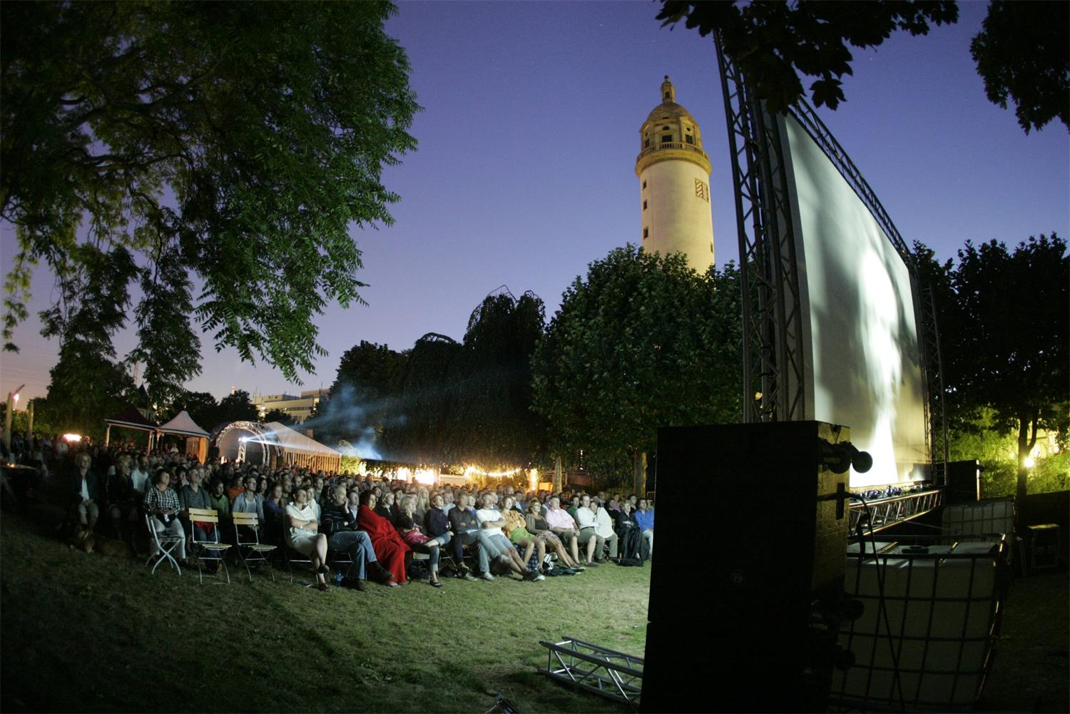 "Kurzfilmfest ""Shorts at Moonlight"" im Höchster Schloss; Copyright: Shorts at Moonlight"